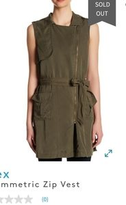 Dex army green vest